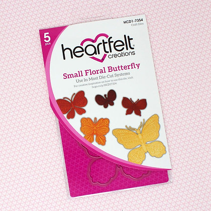 Troquel Small Floral Butterfly