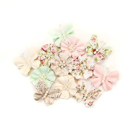 Misty Rose 2 - Flores de papel
