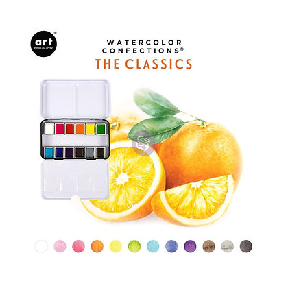 Acuarelas - Watercolor Confections The classics