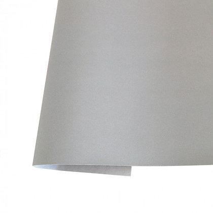 Ecopiel metalizada - Plata