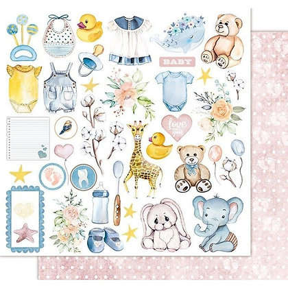 Recortable - Sweetie baby - Teddy bear