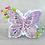 Thumbnail: Troquel Large Floral Butterfly
