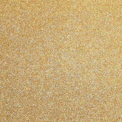 Vinilo termotransfer para ecopiel - Glitter oro imperial