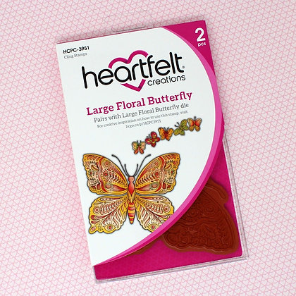 Sello Large Floral Butterfly