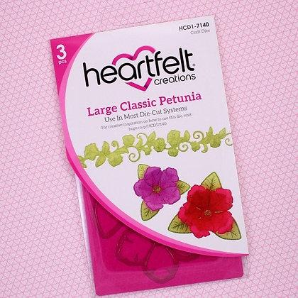 Troquel y Sello Large Classic Petunia