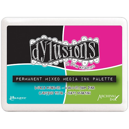 Tinta Archival - Dylusions Permanent Mixed media Ink Palette