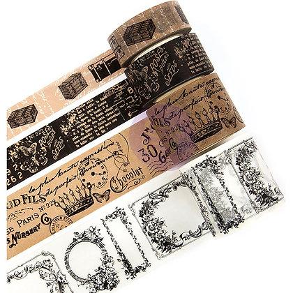 Set de washi tapes - Fancy letters - Cinta de decoración