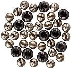 Screw heads - Cabezas de tornillos