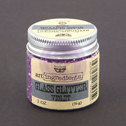 Glass Glitter Violet - Art ingredients