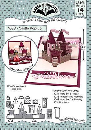 Castle pop-up - Sistema de troqueles Castillo
