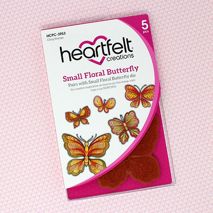Sello Small Floral Butterfly