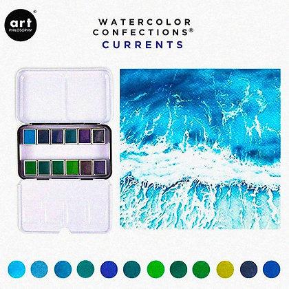 Acuarelas - Watercolor Confections Currents