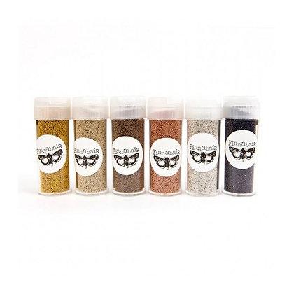 Metallic micro beads - Set de 6 colores