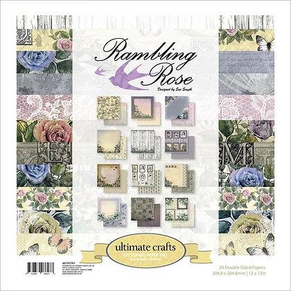 Rambling Rose - Block 12 x 12