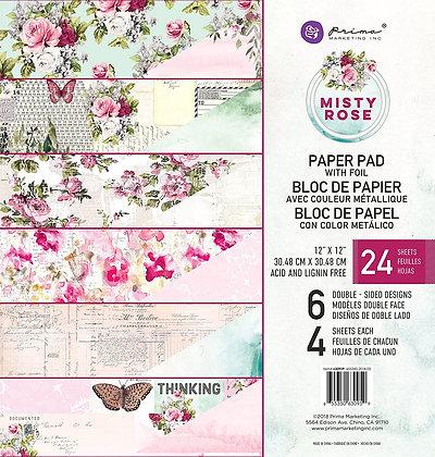 Misty Rose - Block 12 x 12