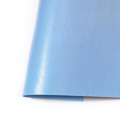 Ecopiel satinada - Azul cielo