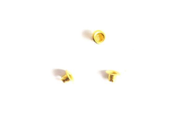 Ojales de metal para tarjetería