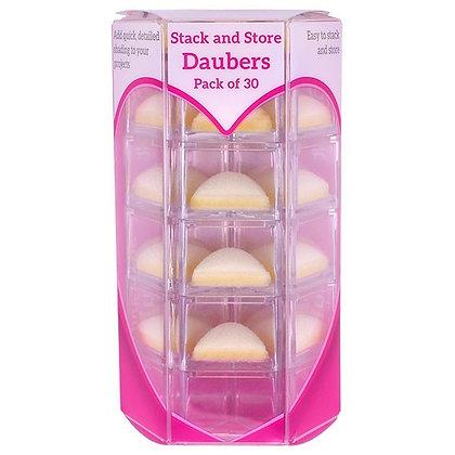 Paquete de 30 Daubers - Esponjitas triangulares