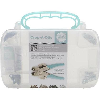 Caja Crop-a-Dile Aqua con ojales