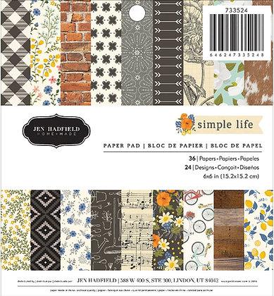 Simple Life - Block 6 x 6
