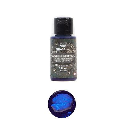 Acrílico líquido - Ultramarine - Pintura acrílica