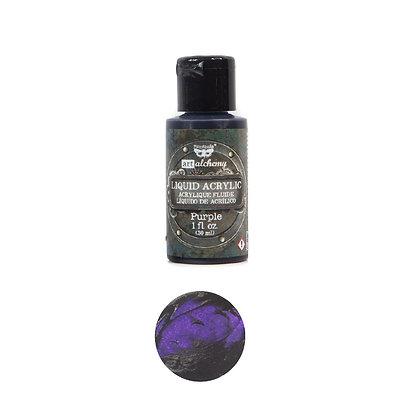 Acrílico líquido - Purple - Pintura acrílica