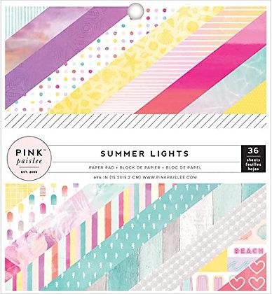Summer Lights - Block 6 x 6
