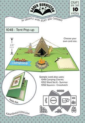 Tent pop-up - Sistema de troqueles Tienda