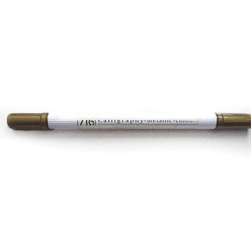 Calligraphy Metallic Dual-Tip Marker Dorado - Rotulador punta doble