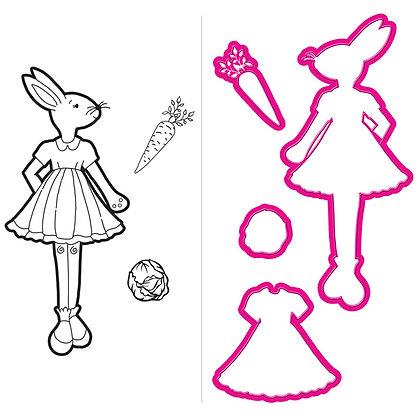 Bunny - Sello y troquel