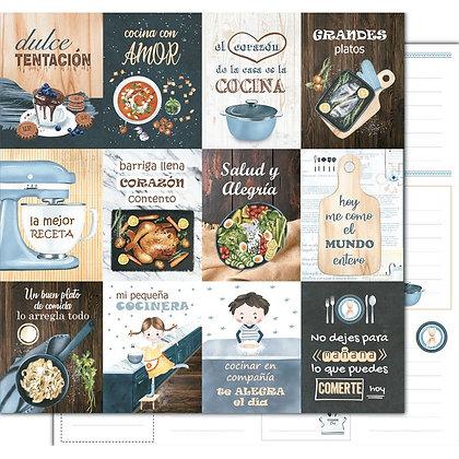 Recortable - Cocina con amor - Grandes platos