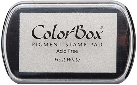 Color Box - Frost white - Pad de tinta