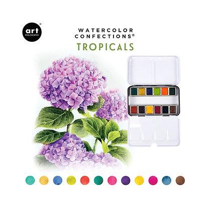 Acuarelas - Watercolor Confections Tropicals