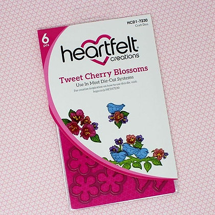 Troquel Tweet Cherry Blossoms