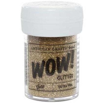 Wow! Extrafine glitter gold - Brillantina