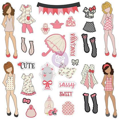 Recortables - Ephemera and stickers - Sassy Sweet
