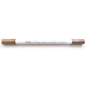 Calligraphy Metallic Dual-Tip Marker Cobre - Rotulador punta doble