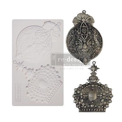 Victorian Adornments  - Molde 5''x 8''