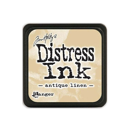 Mini Distress ink - Antique Linen - Mini tinta distress