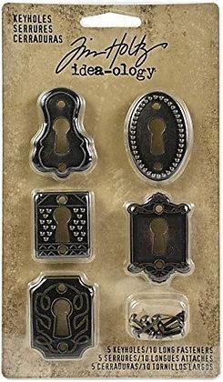 5 Keyholes - Mini cerraduras de metal