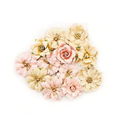 Sprinkle and Sparkle - Santa Baby - Flores de papel