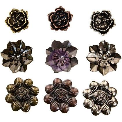 Mechanical flowers - Flores de metal