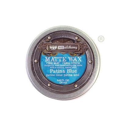 Matte Wax - Cera Matte Patina Blue