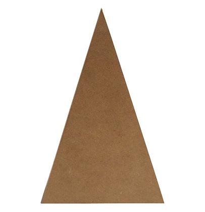 Estructura de triángulo grande