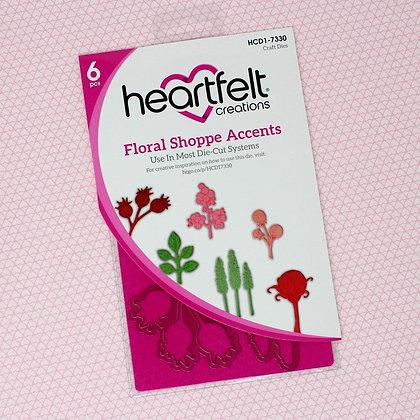Troquel Floral Shoppe Accents