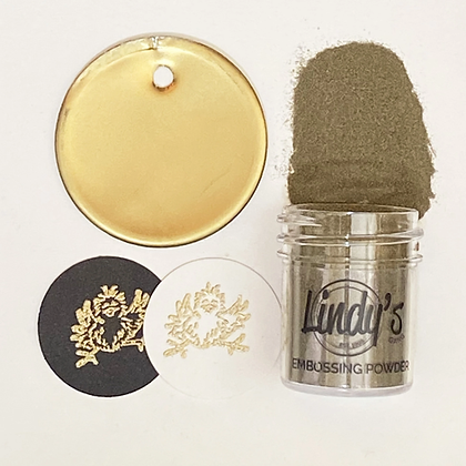 Polvo embossing - Gimme five gold