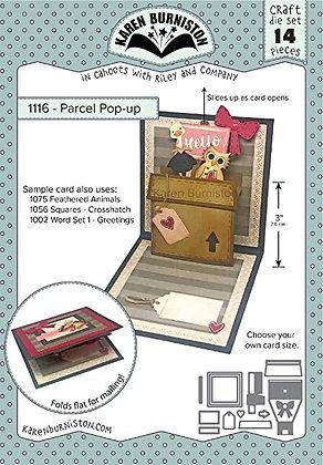 Parcel pop-up - Sistema de troqueles Parcel
