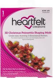Texturador - 3D Christmas Poinsettia Shaping mold