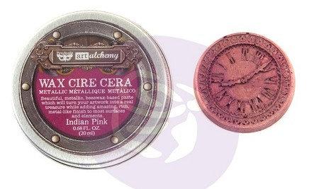 Metallique Wax - Cera metálica Indian pink