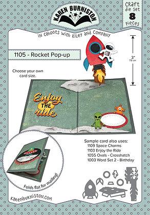 Rocket pop-up - Sistema de troqueles para cohete
